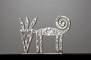 Wild Cat by Nadim Karam contemporary artwork