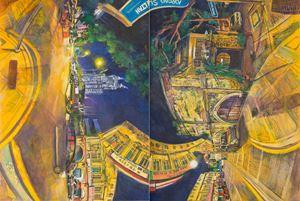 Lorong Sultan by Chin Kong Yee contemporary artwork
