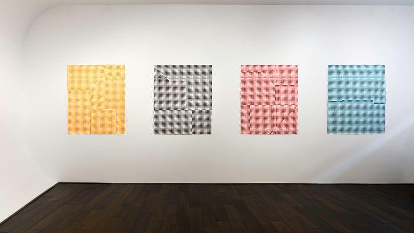 Exhibition view: Giulia Ricci, Alteration/Deviation,Bartha Contemporary, London (20 June–17 July 2021). Courtesy Bartha Contemporary.