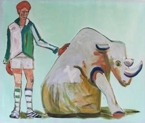 Paradise No. 1 (Rhino) by Carla Busuttil contemporary artwork
