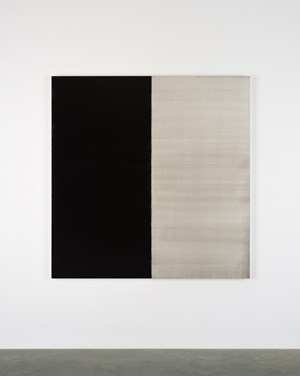 Untitled Lamp Black by Callum Innes contemporary artwork