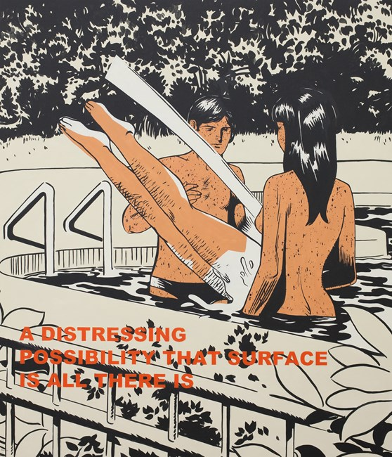 Interruption Of Peace by Dina Gadia contemporary artwork
