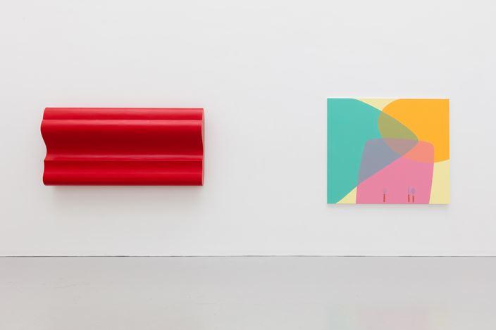 Exhibition view: CONDO hosting Edouard Malingue Gallery,Kate MacGarry, London (12 January–9 February 2019). Courtesy Kate MacGarry andEdouard Malingue Gallery.