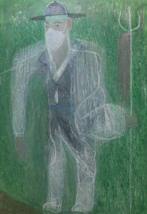 포졸1 by Park Noh-wan contemporary artwork
