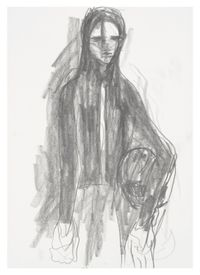 Untitled by Anne Imhof contemporary artwork works on paper, drawing
