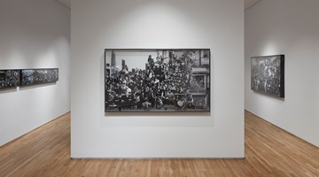 Contemporary art exhibition, JR, The Chronicles of San Francisco – Sketches at Pace Gallery, Palo Alto
