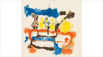 Contemporary art exhibition, Helen Frankenthaler, Imagining Landscapes: Paintings by Helen Frankenthaler, 1952–1976 at Gagosian, Grosvenor Hill, London
