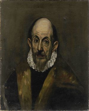 After El Greco by Chen Danqing contemporary artwork