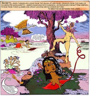 Secrets by Chitra Ganesh contemporary artwork