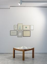 Exhibition view: Koo Hyunmo, Acquired Nature, PKM Gallery, Seoul (20 June–3 August 2018). Courtesy PKM Gallery.