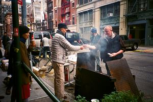 Hurricane Sandy Barbecue by Cai Wen-you contemporary artwork