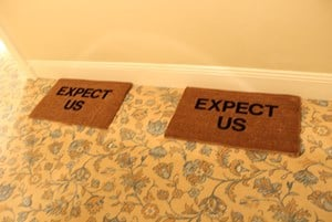 Untitled (expect us) by Elizabeth Newman contemporary artwork
