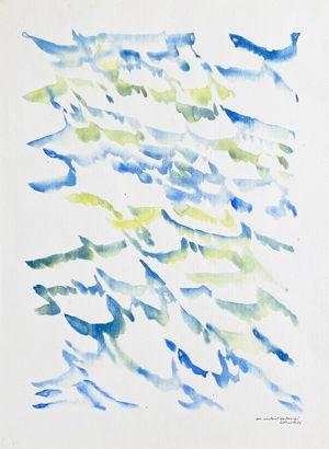 Un instant submergé by Jacques Calonne contemporary artwork