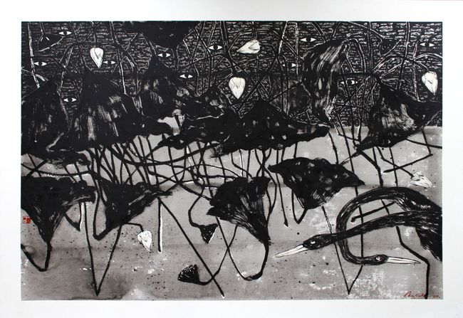 Sansāra 10 by Nuwan Nalaka contemporary artwork