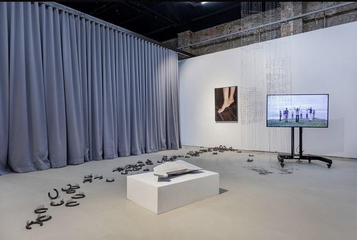 Exhibition view: Touching Feeling, Hua International, Beijing (29 August–25 October 2020). Courtesy Hua International.