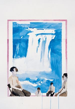 Untitled No. 5 by Qiu Xiaofei contemporary artwork