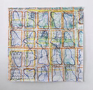 Deklinierte Flächen mit 3 Formen by Chris Reinecke contemporary artwork