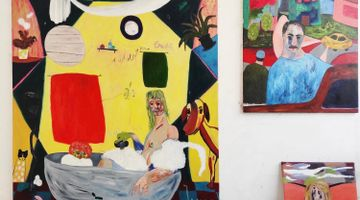 Contemporary art exhibition, Janes Haid-Schmallenberg, The beautiful and the bizarre at SETAREH, Online Only, Germany