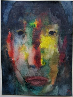 Gesicht by Herbert Beck contemporary artwork