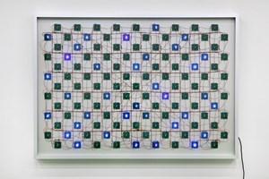 Life (Complex System) No. 4 by Tatsuo Miyajima contemporary artwork mixed media