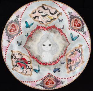 asking for the moon by Kayoko Mizumoto contemporary artwork