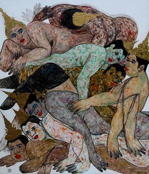 No stranger No. 2 by Anuwat Apimukmongkon contemporary artwork