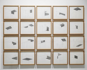 Notes on Essential Structures I, II, III, IV by Rathin Barman contemporary artwork