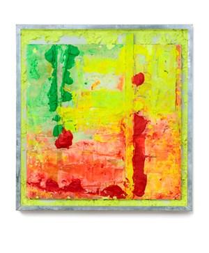 Square landscape by Shinro Ohtake contemporary artwork