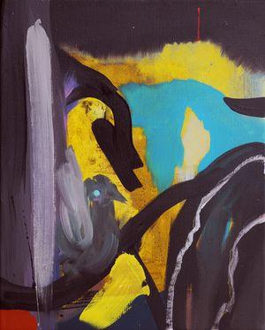 Die Vogelhochzeit (The Bird Wedding) by David Lehmann contemporary artwork painting