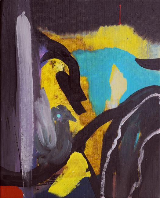 Die Vogelhochzeit (The Bird Wedding) by David Lehmann contemporary artwork