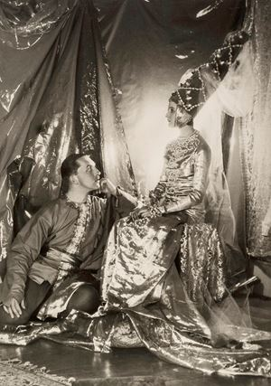 Baba Beaton and Prince Galitzine by Cecil Beaton contemporary artwork