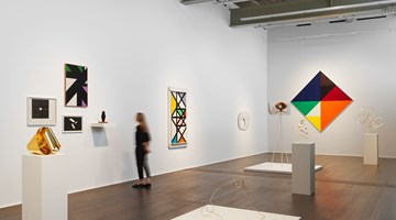 Contemporary art exhibition, Group Exhibition, max bill bauhaus constellations at Hauser & Wirth, Zurich
