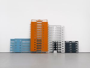Apartments 1. by Julian Opie contemporary artwork