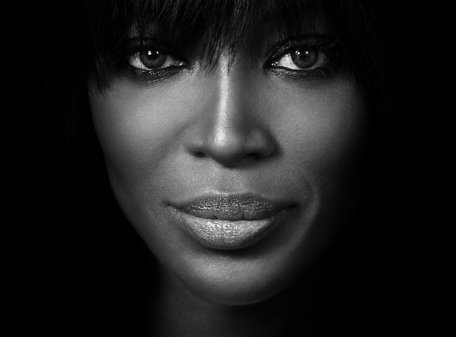 Naomi Campbell by Andy Gotts contemporary artwork