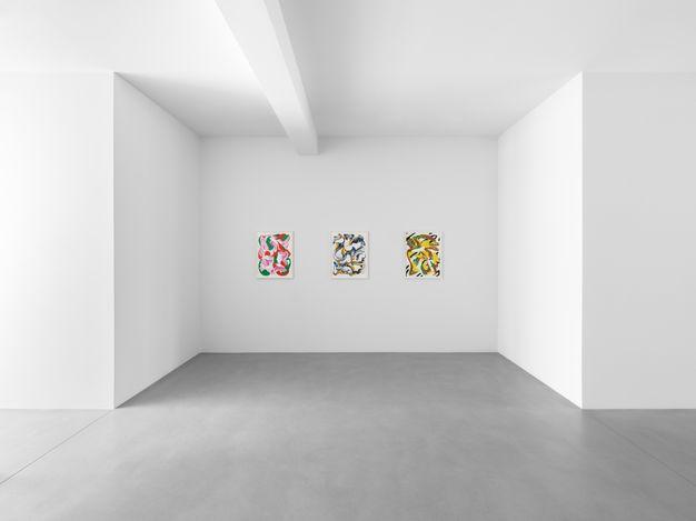Exhibition view: Lesley Vance, Slipstream,Xavier Hufkens, Van Eyck(27 May–26 June 2021). Courtesy Xavier Hufkens, Brussels. Photo: Allard Bovenberg.
