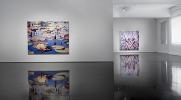 Contemporary art exhibition, Tim Maguire, The Floating World at Tolarno Galleries, Melbourne