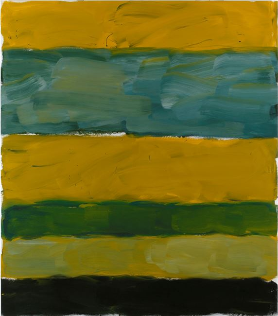 LANDLINE YELLOW YELLOW by Sean Scully contemporary artwork