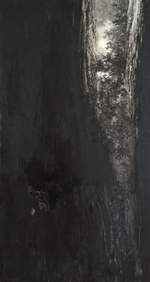 In Blackness by Koon Wai Bong contemporary artwork