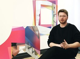 Video of the exhibition 'Rooms Greet People by Name' by Artie Vierkant