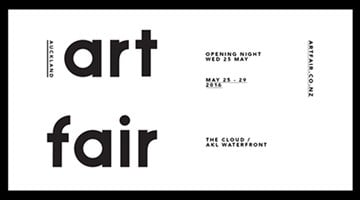 Contemporary art exhibition, Auckland Art Fair 2016 at Two Rooms, Auckland