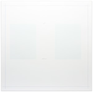 Untitled, from 10 From the Bowery 1969-1971 by Robert Ryman contemporary artwork