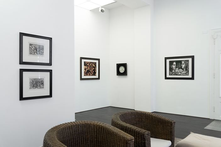 Exhibition view: Group Exhibition, Pablo Picasso and two sculptures by Manolo Valdes, Beck & Eggeling, Düsseldorf (8 April–6 June 2020). Courtesy Beck & Eggeling Fine Art.