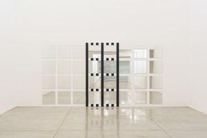 New grids: baixo-relevo - DBNR nº 10 by Daniel Buren contemporary artwork