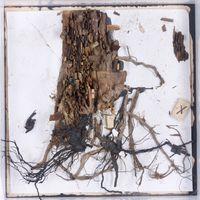 28i by Leonardo Drew contemporary artwork works on paper, mixed media