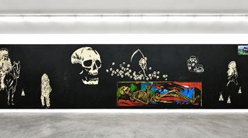 Contemporary art exhibition, Wes Lang, Wes Lang at Almine Rech, Rue de Turenne, Paris