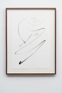 Autoportrait avec pouce opposable LIV by Abraham Cruzvillegas contemporary artwork painting, works on paper
