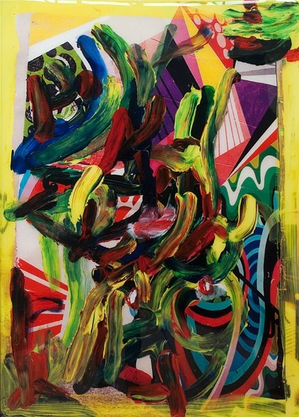 Colour Drunks & Ritalin by TV Moore contemporary artwork
