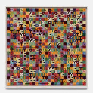 Quando le parole sono stanche by Alighiero Boetti contemporary artwork