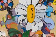 BAP Flower 15 (Highlights) by Eddie Martinez contemporary artwork 2