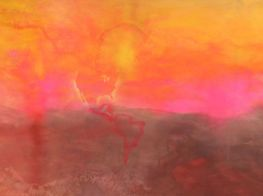 Frank Bowling's Alchemical  Paintings at Hauser & Wirth